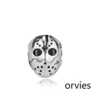 2020 designer European and American jewelry big fashion Black Friday Jason mask ring