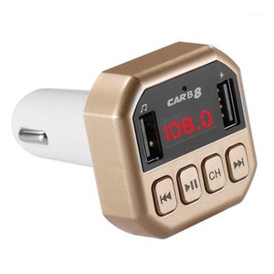 Car MP3 Player Wireless Bluetooth Car FM Transmitter Radio Lcd Aux SD Card Dual 2 USB Charger MP3 Player Electronics1