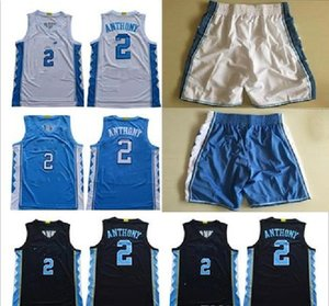 Classic NCAA North Carolina Tar Takels # 2 Cole Anthony Michael College Vince Carter 2019 UNC BLU BLU BLUS BIANCO Pallacanestro Pallacanestro