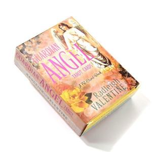 78pcs ange gardien cartes de tarot anglais complet Guide Divination destin Jeu de plate-forme gardien incroyable yxlpFJ de qpseller