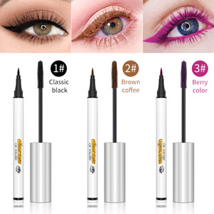 QIC Jewel Light Color Liquid Eyeliner And Mascara Set 36H long lasting Waterproof 3 Color Options Eye Makeup