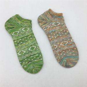 2020 Mens de la manera del calcetín del verano mujeres de los hombres de alta calidad del algodón del calcetín del calcetín Hombres Barco Un tamaño envío