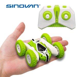 Sinovan Hugine 2.4G 4 canales Stunt Drift Deformación Buggy Rock Crawler rollo de coches 360 flip Grado para niños Robot RC Cars Toys