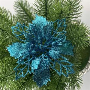 16 سنتيمتر عيد الميلاد الزهور شجرة عيد الميلاد ديكورات زهرة الزفاف زينة زهرة عيد الميلاد قلادة ديكورات 15 اللون HWB2774