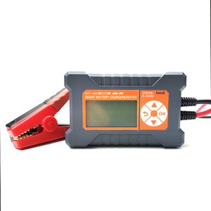 Portable 12v smart automatic car battery charger tester CAT200