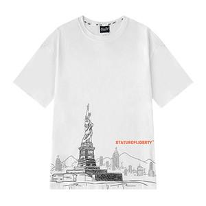 Hot Selling Mens Designer T Shirt Luxury Men Short Sleeve Comfortable Men Women Pattern Print Tee Size M-XL