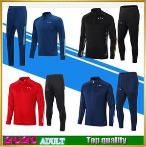 Tuta da calcio Ajax 2020 VAN DE BEEK NERES TADIC DE LIGT ZIYECH polo maillot de foot 20 21 giacca da calcio tuta da allenamento da jogging