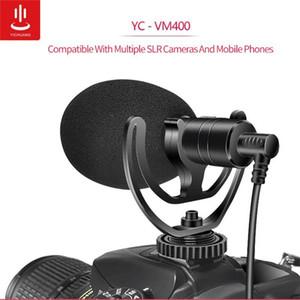 YC-VM400 Cardioid Shotgun-Mikrofon 3.5mm Kopfhörer TRS TRRS Ausgang für Smartphone Tablets DSLR-Consumer-Camcorder PC