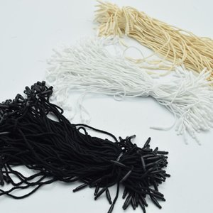 980pcs lot Good quality Cotton Hang Tag String Snap Lock Pin Loop Fastener Ties for wholesale