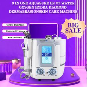 salon ve ev için 6 1 hydrafacial AquaSure H2 Derin temizleyici Ultrasonik Portatif makine