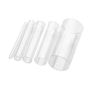 plexiglass acrylic transparent glass tubes pipes organic glass tube water filtration connecting pipe for diy aquarium fish tank kntpU