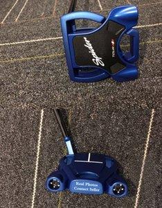 En Son Model Mavi Örümcek Golf Putter + Putter Başörtüsü Daha Resimler Satıcıyla 2adet büyük İndirimler ve DHL kargo olsun