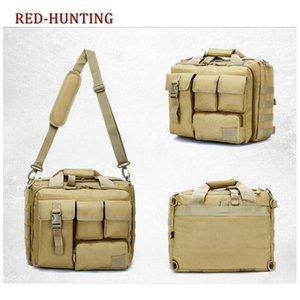 Tactical Travel Messenger Bag Shoulder Outdoor Sport Bag Molle Rucksack Laptop Computer Camera Case for Camping Hunting