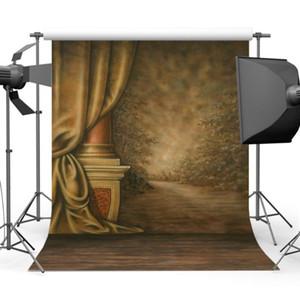 Mehofoto Retro Old Master Wall Photography Background Vintage Floor Photographic Backdrops Studio Photo CM-0514