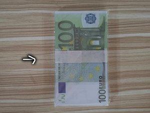 Yeni ürün banknot oyun oyuncak çocuk erken eğitim banknot nötr erken eğitim simülasyonu 100 Euro banknot sikke