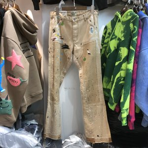 Pantaloni 2021fwss Tuta Uomini Donne 1 di alta qualità Oversize Patch Hip-Hop Pantaloni