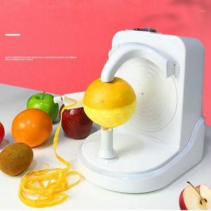 JRM0200 Electric Obst Peeler Automatische Multifunktionsschäler Orange Fruchtgemüse 25w elektrische Peeling-Maschine1