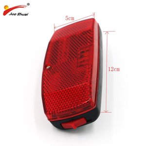 404 Red Bicycle Tail Light Bicycle Hanger Light Battery Bike Accessories MTB LED lamp Partsbike accessories