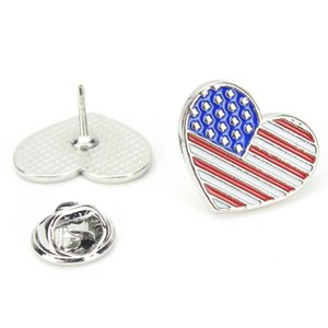 Flag Badge Brooches Lapel Pins Country Badges Pin Fashion Jewelry Brooches Suit Accessories Pins Party and Festival Craft Gifts
