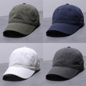 LQZX Pamuk Spor Şapka Beyzbol Kadınlar için Ayarlanabilir Beyzbol Erkekler Cap Kurşun Işık Snapback Golf Kap