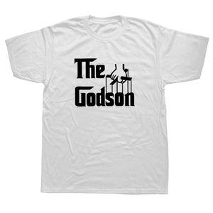 The Godson God Parents Christening Funny Mens Birthday Gift Mens Men T Shirt Tshirt New O Neck Casual T-shirt Tee Camisetas