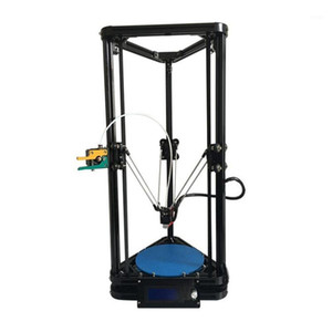 HE3D K200 delta DIY 3d printer kit autolevel with heated bed single nozzle full metal 8 improved remote extruder kit1
