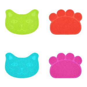 Rutschfeste Katzenmatten Pads PVC 30 * 40 cm Feste Farbe Hund Anti Katzen Schleifen Müll Matte Kitty Rub Füße Pad Pet Supplies 3 6JN M2