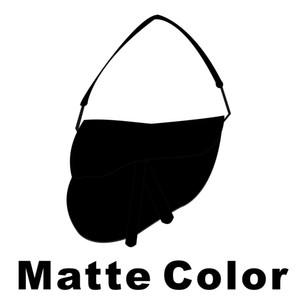 2021 Bolsa das Mulheres Matte Saddle Moda Nova Carta Bolsa De Ombro Alta Qualidade Genuine Leather Messenger Bags Designer Crossbody Caixa de presente