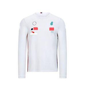 Özelleştirilmiş F1 Yarış Periferik Giyim Araba Fan Versiyonu Moda Takımı Uzun Kollu Hızlı Kuruyan Gömlek