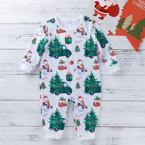 kids  clothes girls new products for baby and children's clothing in spring and autumn home cartoon one-piece clothes