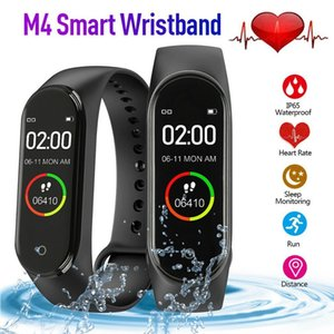 M4 0.96Inch Color Screen Watch Sports Band Health Sleep Tracker Motion heart rate Bluetooth smart bracelet