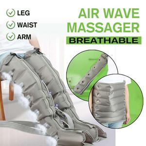 4-6 воздушных камер сжатия ноги массажер вибрации инфракрасная терапия рычага талии пневматические воздушные обертывания расслабиться обезболивающие массажеры