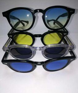 Nuevo estilo 16 Color marco 3 Tamaño 98 Color Lente de alta calidad Lemtosh UV400 Johnny Men Depp Mujer Gafas de sol con paquete completo