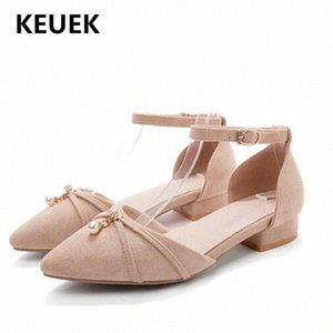 New Children Single Shoes Kids Spring Summer Fashion High Heels Girls Princess Flock Toddler Baby Leather Shoes 02C AYbs#