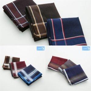 LXZ5 43cm Cotone Business Suit Tasco asciugamano classico Dark Parka 43 cm cotone uomo business taxi tasca fazzoletto fazzoletto