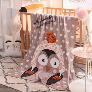 Couvertures NIVEAU BABY COUVERTURE Dessin animé Children Thread Couverture Couverture de dessin animé pour bébé Soft Soft Souffle 100 * 140cm Textiles Home Textiles HWC2