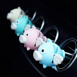 Car Perfume Air Freshener Cartoon Diffuser Vent Clip Parfum Vanilla New Car Smell Fragrance Oil Auto Scent Refresher Essential Ee0F#