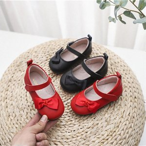 Dolakids Spring Style New Top Layer Cowhide Shoes Handmade Leather Shoes Cut Princess Genuine Leather 1 8 Years Old School Shoes Leath BPjX#