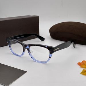 5425 Yeni Erkekler ve Kadınlar Popüler Gözlük Kare Retro Stil Dikdörtgen Tabak Full Frame Yüksek Kalite Çok renkli Çerçeve Şeffaf Lens