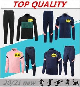neue 2020 2021 Fußballjacke Trainingsfußballtrainingsanzug Camisola de Futebol 20 21 maillot de foot Fußballjacke Trainingsanzüge Jogging
