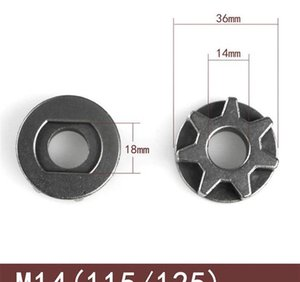 Ools Tool Parts 10 m14 m16 Chainsaw Gear 100 115 125 150 180 Angle Grinder Replacement Gear Sawing Sprocket Chain Wh bbyclJ yh_pack