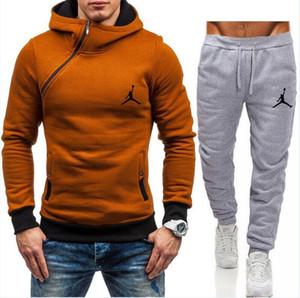 Mens set Designer Sweatsuit Mens Hoodies + calças, masculino casual sportswear, Man Outdoor Sports Casacos Treino camisola Jordan suar terno