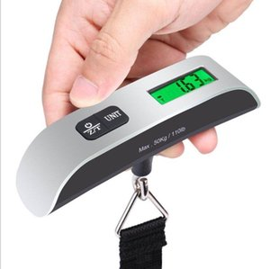 Fashion Hot Portable LCD Display Electronic Hanging Digital Lage Weighting Scale 50kg*10g 50kg 110lb Weight Scales