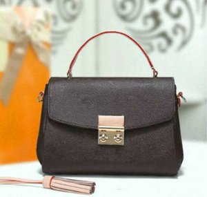 Date Leather Shoulder Bag Quality Code Woman Purse Fashion Number Handbag Serial With Xakll