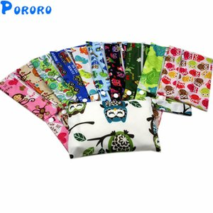 10Pcs lot PUL Wet Bag Baby Waterproof Cloth Diaper Bag Pocket Zipper Print Reusable Baby Nappy Diaper Wet Bags 14x20cm 201021