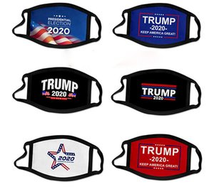Mask Election All Aboard the Trump Train Outdoor Cycling Designer Masks Anti Dust Pollution Mouth Cover ZZC1233