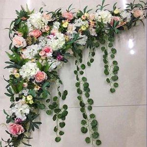 1.2M Wedding decoration new artificial flower row Flower arrangement wedding hotel decoration photo studio photography 1set
