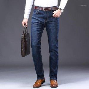 Vomint Mens Jeans New Business Business Casual Jeans Cotton Stretch Stretch Pant uomo Pantalone lungo Pantaloni dritti di alta qualità1