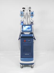 Leistungsstärksten 4 Kryo Griff cryolipolysis arbeiten zusammen Doppelkinn Entfernung Gewichtsverlust Laser Fett Einfrieren Formgebung Kavitation Maschine