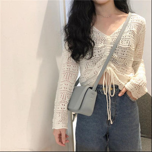 Cheap wholesale 2021 new Autumn Winter Hot selling womens fashion netred casual lady beautiful nice Tops MP276